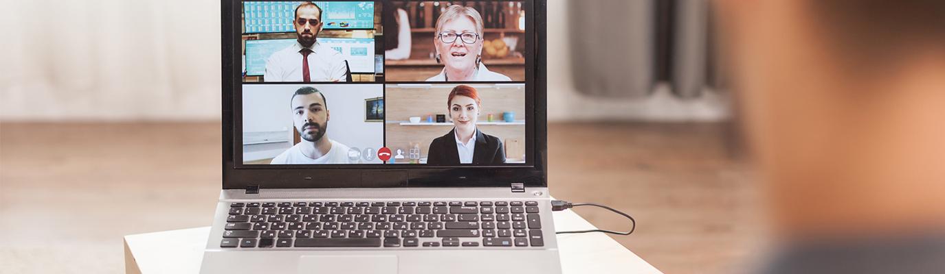 Homeoffice und Kundenkontakt per Videoconferencing
